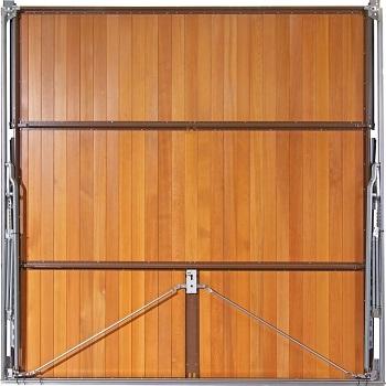 Rear of door showing Super Chassis Retractable gear