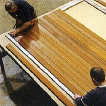 Construction of Panel-Built door
