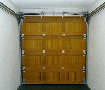 Rear view of Cedar Door sectional
