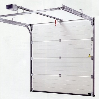 Hormann sectional lpu insulated garage door m ribbed in titan for 15 x 7 garage door price