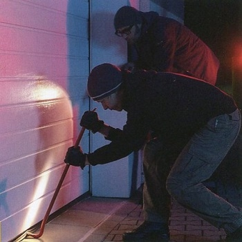 Sectional garage doors are very secure