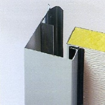 Carteck Steel Sectional 40mm Insulated Centre Ribbed