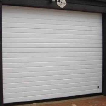 Ryterna Insulated Rib Steel Woodgrain Sectional Garage Door
