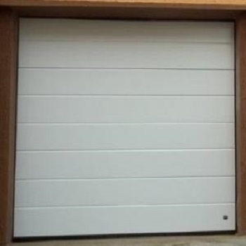Ryterna 40mm Insulated MidRib Slick Steel sectional garage door