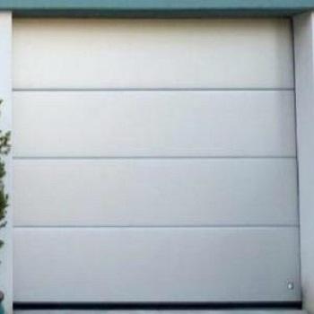 Ryterna 40mm Insulated Flush Slick Steel sectional garage door
