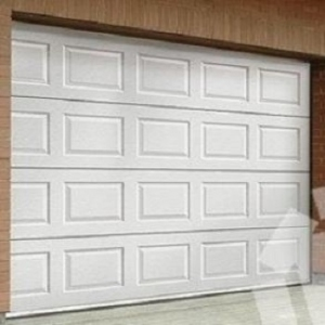 Ryterna 40mm Insulated Georgian Steel sectional garage door