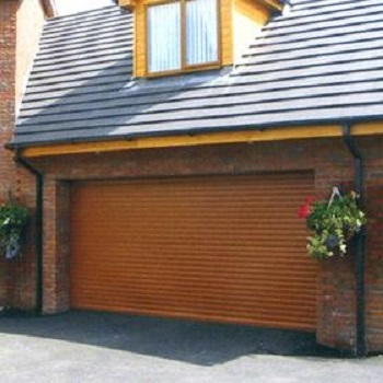 Aluroll Elite Automatic Insulated Roller Garage Door Made To Measure