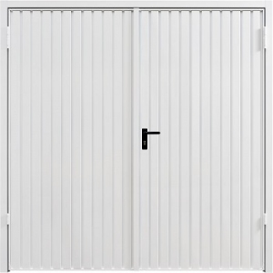 Steel Garador Carlton Side Hinged garage door front