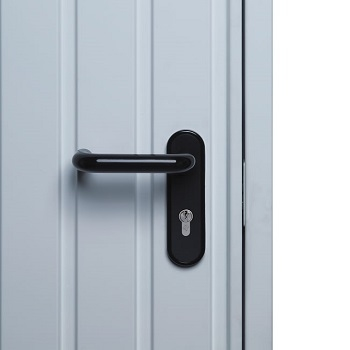 Black Lever Handle as Standard