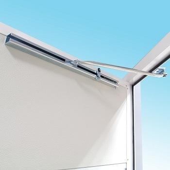 Carteck Vertical Ribbed Insulated Side Hinged Garage Doors