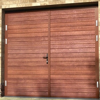 Ryterna Horizontal or Vertical Rib Insulated Side-Hinged Garage Doors