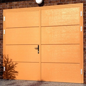 Ryterna Horizontal Flush Insulated Side-Hinged garage doors