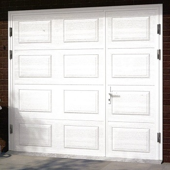 Ryterna Horizontal Georgian Insulated Side-Hinged garage doors