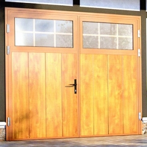 Ryterna Traditional Glazed Insulated Side-Hinged garage doors