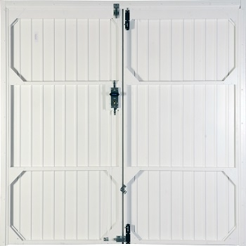 Inside View of Standard Side-Hinged garage doors