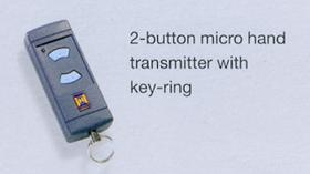 Hormann 2-button micro hand transmitter with key-ring