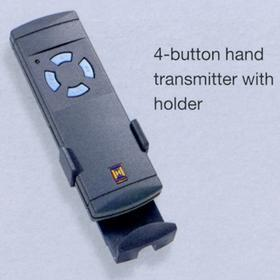 Hormann 4-button hand transmitter with holder