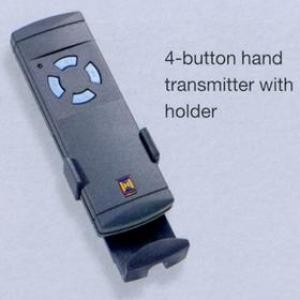 Hormann 4button hand transmitter with holder