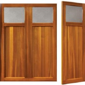 Woodrite Ickford Cedar Side-Hinged garage doors