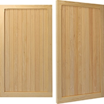 Woodrite Warwick Kenilworth Idigbo Side-Hinged garage doors