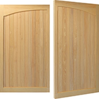 Woodrite Warwick Claverdon Idigbo Side-Hinged garage doors