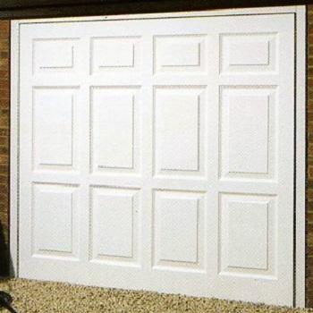 Wessex Georgian Tall White Gloss Grp Garage Door