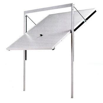 Canopy Door on Steel Frame