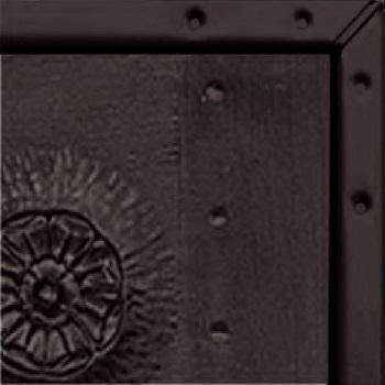 Black Chassis Edge showing on Woodgrain Door