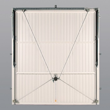 Canopy Door with 4-Point Locking