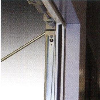 Internal Side of Steel Frame