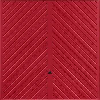 Garador Chevron in Ruby Red