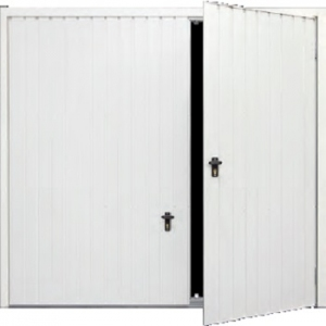 Fort Steel Smartpass Up and Over Door with Wicket