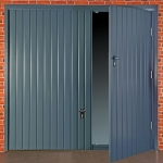 Garage Doors with a Wicket