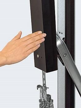 Hormann Steel Up Amp Over Garage Door Wicket