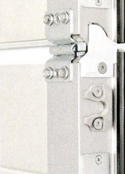 Robust Door Catch prevents door-leaf drop and buckling