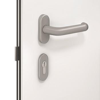 Internal lever handle