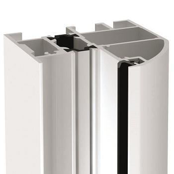 Round style Profile A1 60mm aluminium frame