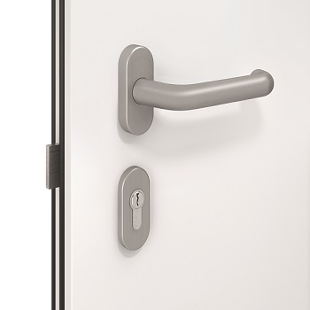 Internal lever handle