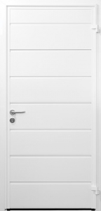 Carteck Insulated HorizontalRib Steel Side Door