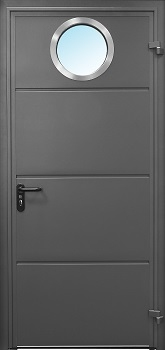 Carteck Insulated Horizontal Rib Steel Side Door