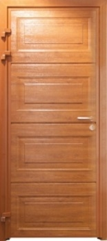 Carteck Insulated Georgian Horizontal-Panel side door