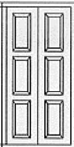 Carteck Insulated Georgian VerticalPanel Side Door