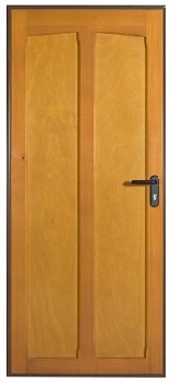 Hormann Tudor Timber Side Door