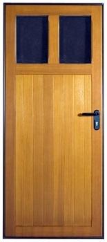 Hormann Garage Light Timber Side Door
