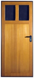 Hormann Garage Light Timber Side Door