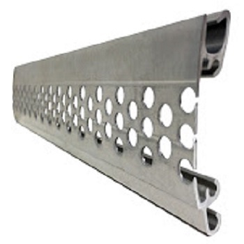 Perforated slat profile