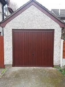 Cardale Gemini Steel up and over garage door