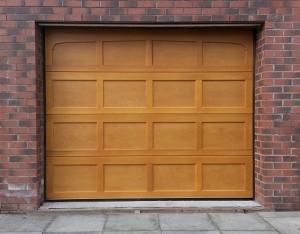 Cedar Door Bradwell sectional garage door
