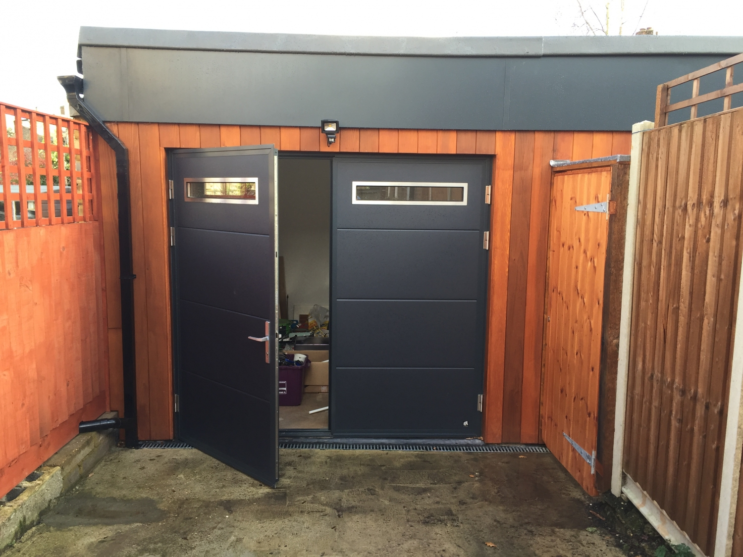 Gallery of completed projects for Garage doors uk