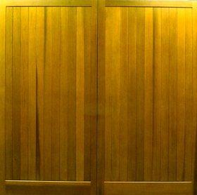 Cedar Door Bakewell Side-Hinged garage doors